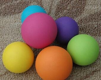 Wooden Rainbow Balls Montessori Inspired Baby Toy Organic Baby Gift