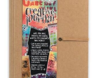 Dyan Reaveley NEW SMALLER Dylusions Journal - Blank - Mixed Media Art Journal 5 x 8