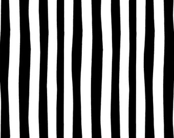 Dr Seuss Black and White Stripes from Robert Kaufman