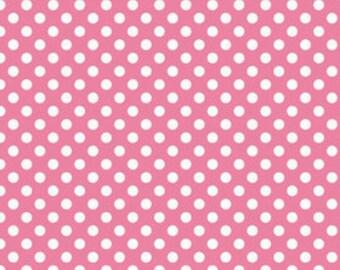 Hot Pink Small Dots from Riley Blake