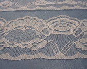 White Scallop Lace 2.75 inches wide 1 Yard