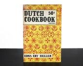 Dutch Cookbook Volume 2 Edna Eby Heller Cook Book 1970s