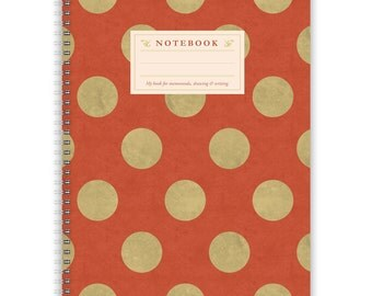 Notebook A4 - Dots-Pattern