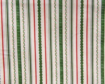 Cookie Cutter Christmas Icing Stripe Green