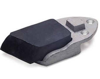 Bench Filing Block Rubber - Great for Filing and Detail Work - Metal Working Jewelry Tool - Bench Tool