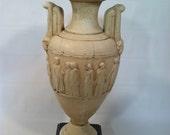 Vase Made in Greece Greek Statue Art Vintage Antique Egyptian Urn Pottery