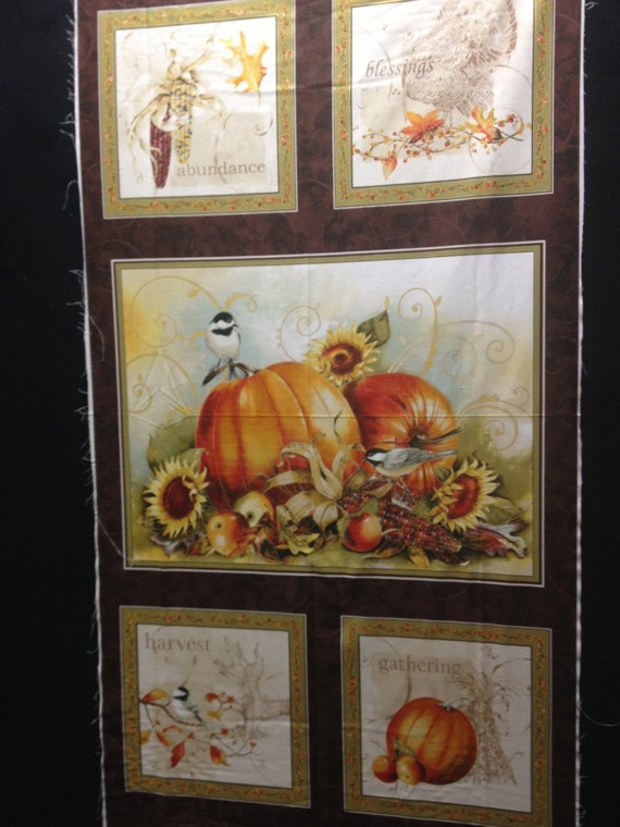 Joyful Harvest by Sandy Lynam Clough - Red Rooster Fabric