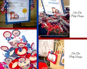 Train Birthday Decorations, train party package, train birthday party decoration, train birthday, train party decortaions, train party