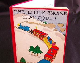 Vintage Classic Children's Book - The Little Engine That Could - 1930 First Edition A Variant