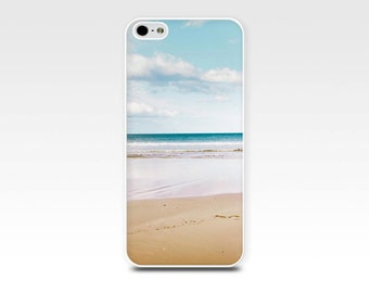 beach iphone case 4 4s 5 5s 6 nautical iphone case iphone case beach scene ocean photography case waves fine art photo case iphone 5 5s blue