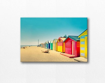 beach house canvas wrap beach canvas art 12x18 24x36 fine art photography ocean canvas gallery wrap large canvas print nautical decor summer
