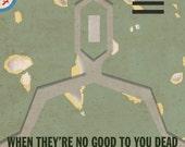 No Disintegrations Poster
