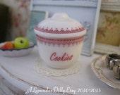 Cookies Jar/Crock for Dollhouse