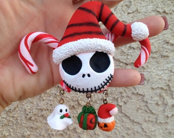 Nightmare Before Christmas Clay Ornament