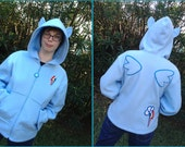 Custom Made Pony Cosplay Jacket Hoodie - Sizes s-xl MADE TO ORDER