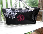 Fun Embroidered Market Baskets - perfect personalized gift for bridal party, family, friends, co-workers