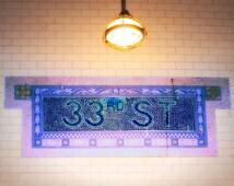 New York Subway Sign, New York Photography, New York Wall Art, Urban Photography
