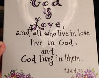 God is Love...