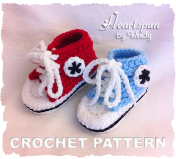 Crochet Baby Converse Shoes Pattern : 301 Moved Permanently