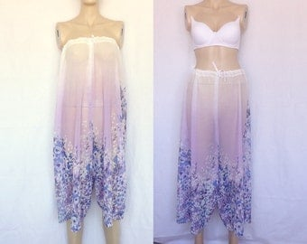 Beach cover up, lace rompers, white purple blue skirt, TRANSPARENT clothes