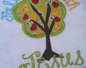 Fall in Love with Jesus Tree Machine Embroidery Applique Design Buy 5 for 8! Use Coupon Code SUMMERFUN