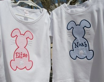 Easter Bunny Applique Shirt