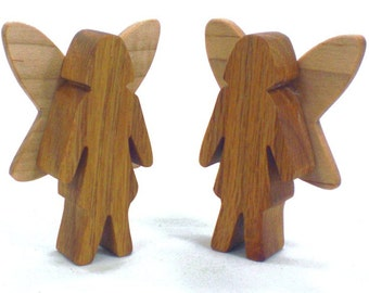 Wooden Fairy Toy, Wooden Toy For Girls, Wood Fairy, Natural Wood Toy, Kids Toys, Kids Wooden Toy, Gift For Girls, Nature Toy, Magical Toy