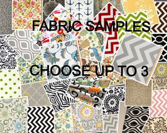 Fabric Samples Choose up to 3 From My Shop