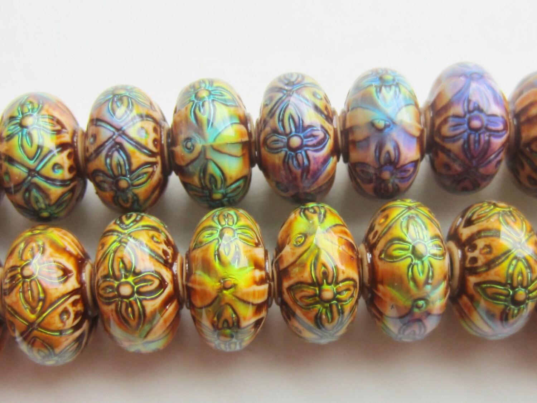 mood bead mirage bead polymer clay bead heat sensitive bead