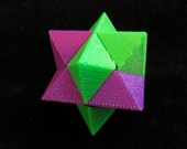 Star Puzzle 3D Printed Brain Teaser