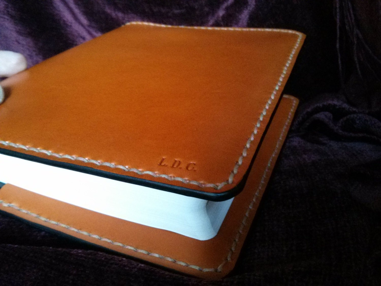 handmade leather bible covers handmade leather bible cover in saddle made in the usa 7721