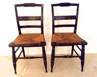 Popular Items For Hitchcock Chair On Etsy