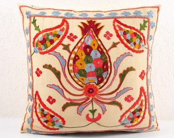 Handmade Suzani Pillow Cover usp109