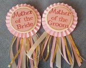 Mother of the Bride & Mother of the Groom Show Off Pins - Set of 2