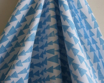 End of Bolt - Pilvi in Sky from the Mormor Collection from Designer Lotta Jansdotter - ONE 42 INCH Cut