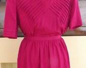 BOGO--Vintage 100% Silk Two-Piece Dress Size 12
