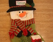 Adorable Personalized Christmas Stockings
