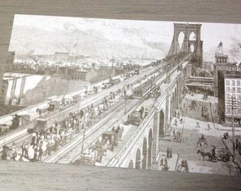 Brooklyn Bridge Postcard Set - 10 Cards