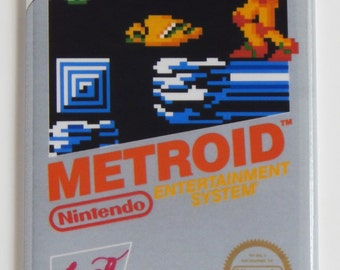 Metroid Video Game Fridge Magnet