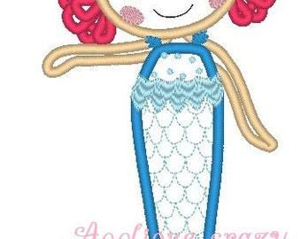 Doll Face Full Body Applique design