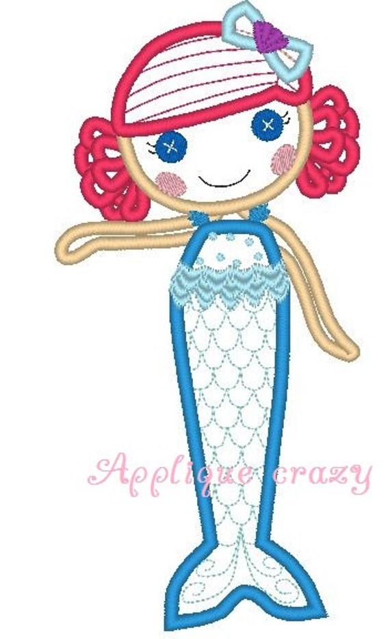 Doll Face Full Body Applique design