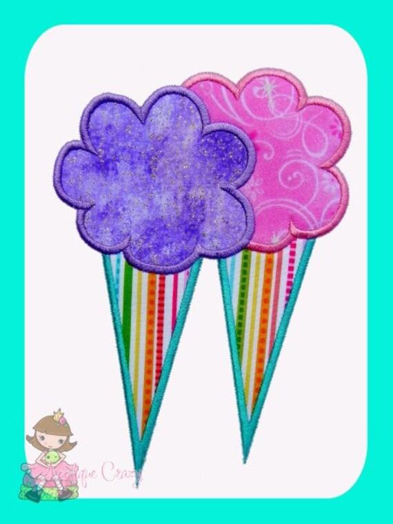 Cotton Candy Applique design
