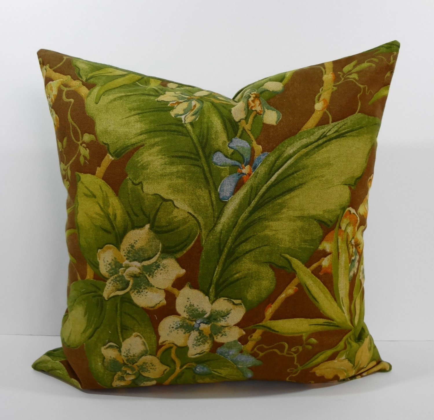 Decorative Pillows Tropical : Tommy Bahama Designer Tropical Print Pillow Cover Decorative