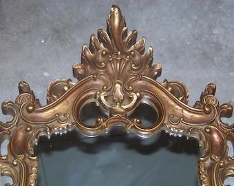 Ornamental Rococo Style Mirror