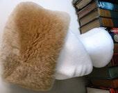 vintage fur hat ... Vintage fabulous New Zealand SHEEPSKIN FUR Pill Box HAT ...