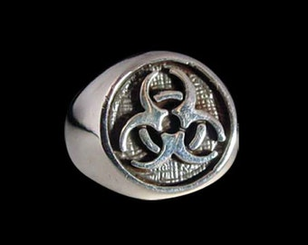 Stainless Steel Toxic Ring - Free Re-Size/Shipping