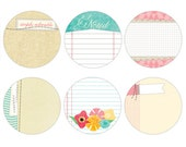 75% Off - Elle's Studio Serendipity Circle Tags -- MSRP 3.75