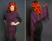 Pattern Only - Wave Shawl...