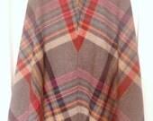 Colorful Plaid A Line Skirt