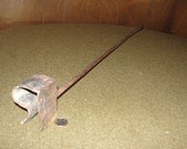 """Vintage Old West """"R"""" Branding Iron Hand Forged"""